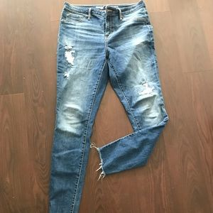 Mossimo high rise skinny jeans size 12
